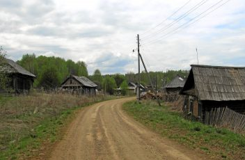 Деревня Ватолы. 2012 год